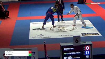 Wanki Chae vs Celso Venicius Junior Abu Dhabi King of Mats 2018   Grappling
