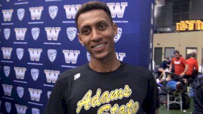 Elias Gedyon Runs 4:01 PR In First Track Meet For Adams State