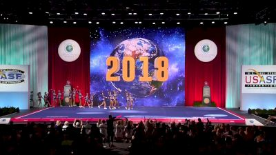 Pittsburgh Pride - Mane 5 [2018 Senior Small All Girl Semis] The Cheerleading Worlds