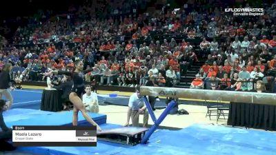 Maela Lazaro - Beam, Oregon State - 2019 NCAA Gymnastics Regional Championships - Oregon State