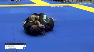 NICOLE SULLIVAN vs KRISTIN MIKKELSON 2021 World IBJJF Jiu-Jitsu No-Gi Championship