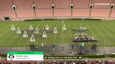 """Pacific Crest """"Diamond Bar, CA"""" at 2019 DCI Drum Corps at the Rose Bowl"""