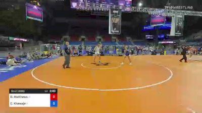 170 lbs Consolation - Derek Matthews, Idaho vs Codei Khawaja, Indiana
