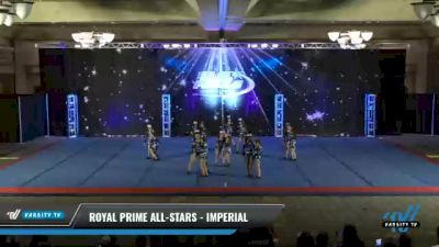 Royal Prime All-Stars - Imperial [2021 L1 Youth - D2 - Small Day 2] 2021 The U.S. Finals: Phoenix