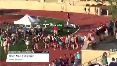 Open Men's Mile, Heat 6