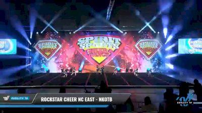 Rockstar Cheer NC East - NKOTB [2021 Exhibition (Cheer) Day 2] 2021 Spirit Sports: Battle at the Beach