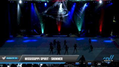 Mississippi Spirit - Shimmer [2021 L1 Tiny Day 2] 2021 The U.S. Finals: Pensacola