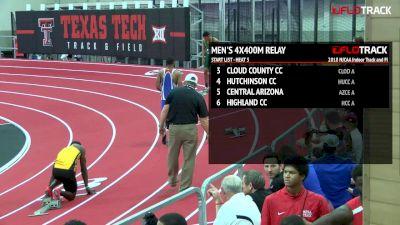 Men's 4x400m Relay, Heat 3