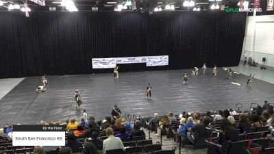 South San Francisco HS at 2019 WGI Guard West Power Regional - Cox Pavilion