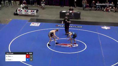 86 kg Semifinal - Brett Pfarr, Team Bobby Douglas vs Chris Foca, Team Lloyd Keaser