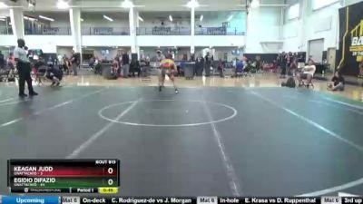 147 lbs Round 3 - Egidio DiFazio, Unattached vs Keagan Judd, Unattached