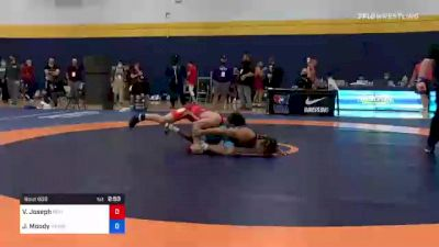 74 kg Round Of 16 - Vincenzo Joseph, Nittany Lion Wrestling Club vs Jeremiah Moody, Hawkeye Wrestling Club