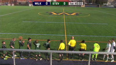 Full Replay - Stevenson vs Wilkes Univ. - Men's Soccer Quarterfinal 1