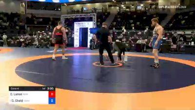125 kg Consolation - Christian Lance, Nebraska Wrestling Training Center vs Daniel Chaid, TMWC / California RTC