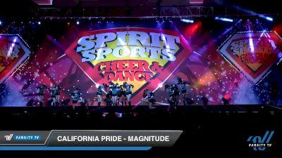California Pride - Magnitude [2020 L3 Junior - D2 - B Day 1] 2020 Spirit Sports: Duel In The Desert