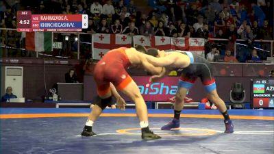 Rd 16 65kg - Ali Rahimzade (AZE) vs Vladimer Khinchegashvili (GEO)