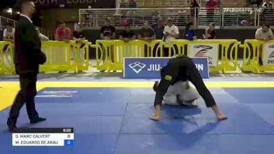 DANIEL MARC CALVERT vs EDUARDO DE ARAUJO ROQUE 2021 Pan Jiu-Jitsu IBJJF Championship