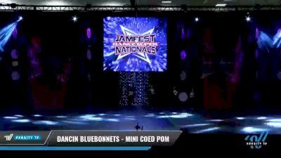 Dancin Bluebonnets - Mini Coed Pom [2021 Mini Coed - Pom Day 2] 2021 JAMfest: Dance Super Nationals