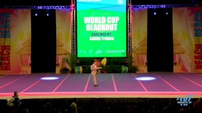 World Cup - BLACKOUT [2018 Senior--Small (Worlds) Day 1] ACDA Reach The Beach OC All Star and College Nationals