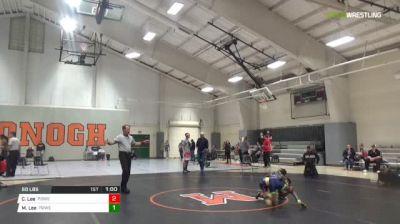 60 lbs Final - Cadell Lee, Powerhouse Wrestling Academy vs Malcolm Lee, Powerhouse Wrestling Academy