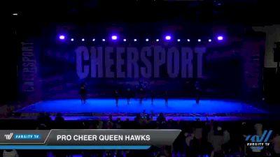 Pro Cheer Queen Hawks [2021 Junior 1] 2021 CHEERSPORT: Atlanta Grand Championship