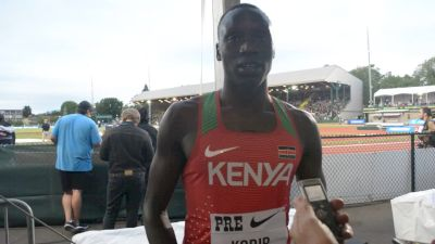 Emmanuel Korir Overcomes Trip To Win 800