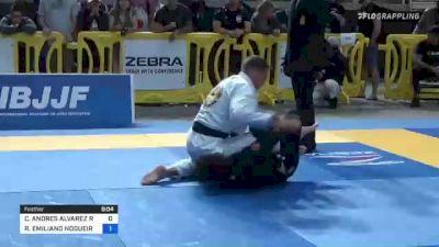 CARLOS ANDRES ALVAREZ ROBLES vs RICHAR EMILIANO NOGUEIRA 2021 Pan Jiu-Jitsu IBJJF Championship
