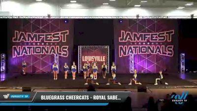 Bluegrass Cheercats - Royal Sabers [2021 L5 Senior Coed Day 1] 2021 JAMfest: Louisville Championship