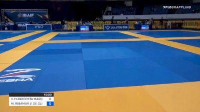 VICTOR HUGO COSTA MARQUES vs MANUEL RIBAMAR V. DE OLIVEIRA FI 2019 World IBJJF Jiu-Jitsu No-Gi Championship