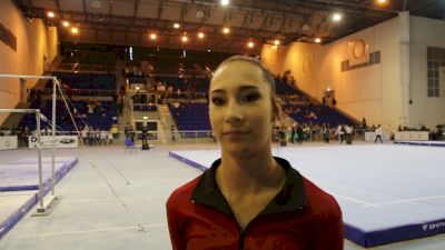 Alyona Shchennikova on bouncing back after an unexpected warmup - 2018 City of Jesolo Trophy