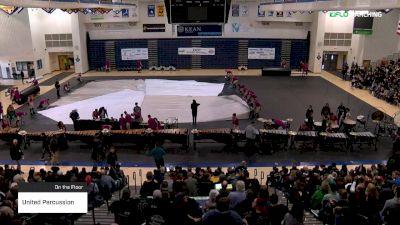 United Percussion at 2019 WGI Percussion|Winds East Power Regional