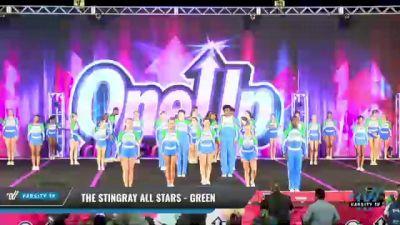 The Stingray Allstars - Marietta - Green [2021 L6 Junior Coed Day 1] 2021 One Up National Championship