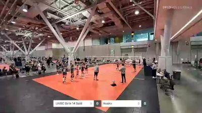 LIVBC Girls 14 Gold vs Husky - 2021 NIKE Boston Volleyball Festival30