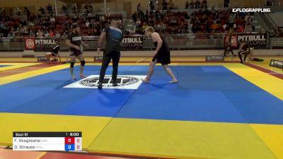Frederic Vosgroene vs Daniel Strauss 2019 2nd ADCC European Trials