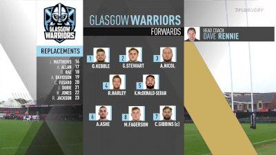 Glasgow Warriors vs Dragons - 2019 Guinness PRO14