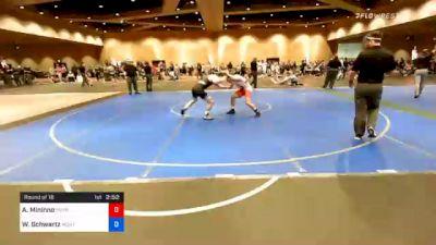 57 kg Prelims - Antonio Mininno, Pennsylvania RTC vs William Schwartz, MontCo Wrestling Club