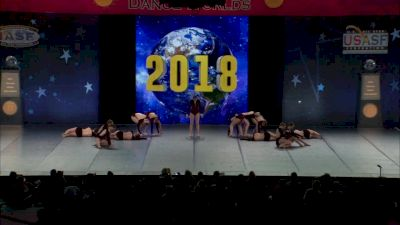 The Vision Dance Center [2018 Open Contemporary / Lyrical Finals] The Dance Worlds