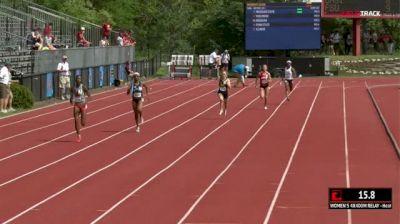 Women's 4x400m Relay, Final 1