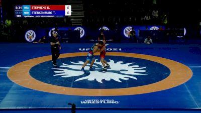 87 kg Qualif. - Kodiak Gary Stephens, USA vs Tyrone Sterkenburg, Ned