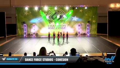Dance Force Studios - Cohesion [2021 Youth - Prep - Jazz Day 3] 2021 CSG Dance Nationals