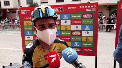 Sepp Kuss: 'Jumbo Can Control The Vuelta Well'