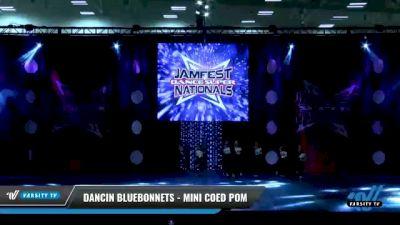 Dancin Bluebonnets - Mini Coed Pom [2021 Mini Coed - Pom Day 1] 2021 JAMfest: Dance Super Nationals