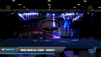 Rock Solid All Stars - Royalty [2021 L4 Junior Day 1] 2021 ACP: Tournament of Champions