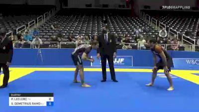 PIERRE-OLIVIER LECLERC vs STEVEN DEMETRIUS RAMOS 2021 World IBJJF Jiu-Jitsu No-Gi Championship