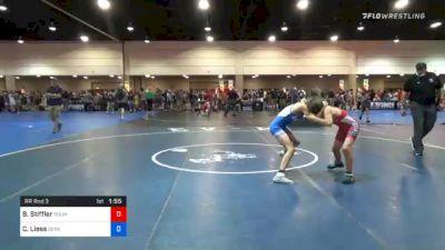136 lbs Prelims - Blue Stiffler, Roundtree Wrestling Academy vs Casey Liess, Genesee Valley Wrestling Club