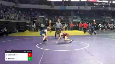 160 lbs Final - Caleb Caldwell, Terminator Wrestling Academy vs Merrik Murray, Greater Heights Wrestling