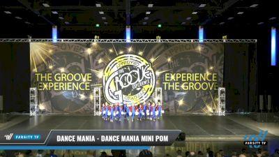 Dance Mania - Dance Mania Mini Pom [2021 Mini - Pom Day 2] 2021 Groove Dance Nationals