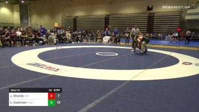 Quarterfinal - Joshua Shields, Arizona State vs Emil Soehnlen, Purdue