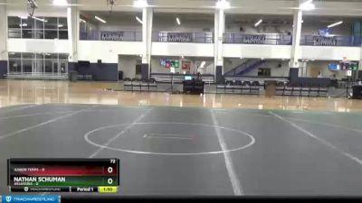 113 lbs Round 4 - Trent Jude, Unattached vs Jaden CRumpler, Unattached