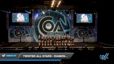 Twister All Stars - Diamond Divas [2020 L2 Senior - D2 - Small Day 2] 2020 COA: Midwest National Championship